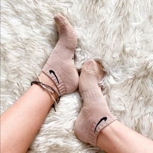 Nike Brown Dyed Low Cut Custom Socks